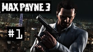 Max Payne 3 PC Walkthrough / Gameplay Part 1: Gammel Smerte - Nyt Spil