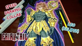 Speed Drawing - Leo Eclipse Form (Fairy Tail) #DYP Collab