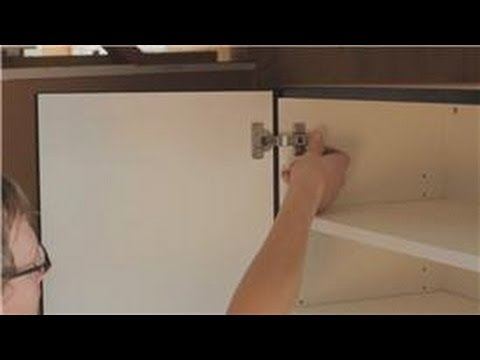 Cabinets 101 : How to Mount a Kitchen Wall Cabinet - YouTube