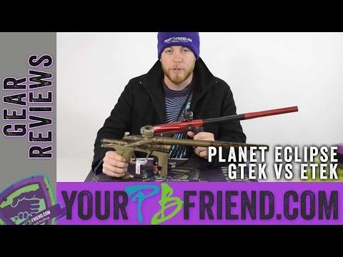 Paintball Gear, What Should I Buy? - Planet Eclipse GTEK vs Etek 5 - Yourpbfriend