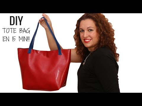 DIY TOTE BAG IN JUST 15 MIN! | FREE PATTERN
