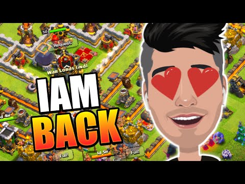 I'm Back Clash Of Clans - No More Quitting