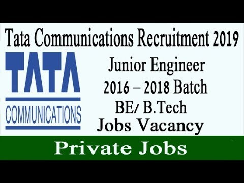 Tata Communications Recruitment 2019 | Tata Communications Job Vacancy