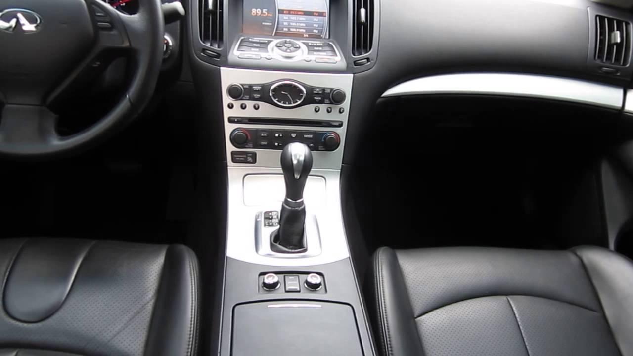 2009 infiniti g37, dark gray stock 13161b interior youtube 2009 Infiniti G37x Coupe Black 2009 infiniti g37, dark gray stock 13161b interior