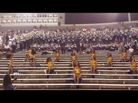 2017 JSU Jsettes Written all over your face UAPB