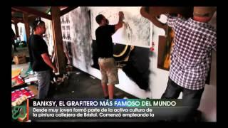 Banksy, el grafitero mas famoso del mundo