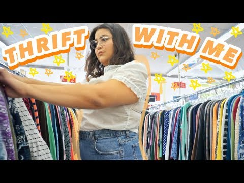 THRIFT WITH ME THE 50% OFF SALE. + PLUS SIZE TRY ON HAUL