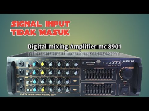 DIGITAL MIXING AMPLIFIER MC 8901