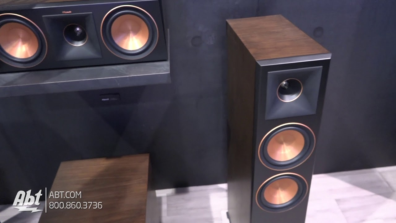 CES Klipsch Reference Premier Speakers YouTube - Abt speakers