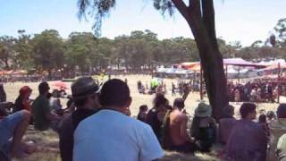 Rainbow Serpent Festival 2010 behind main stage