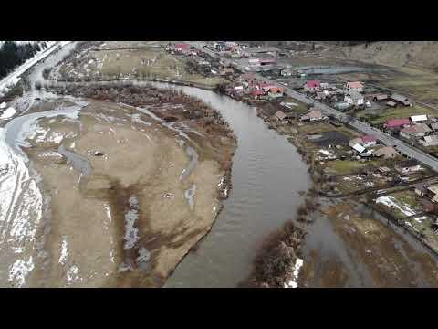 Filmare Aeriana Raul Mures - Zona Toplita