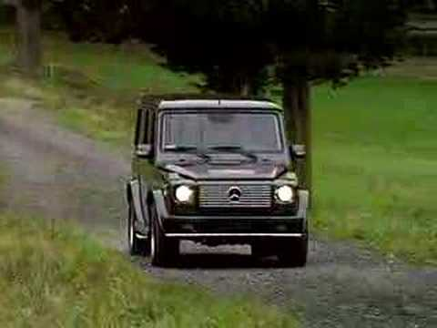 Mercedes Benz G55 AMG Promo Video