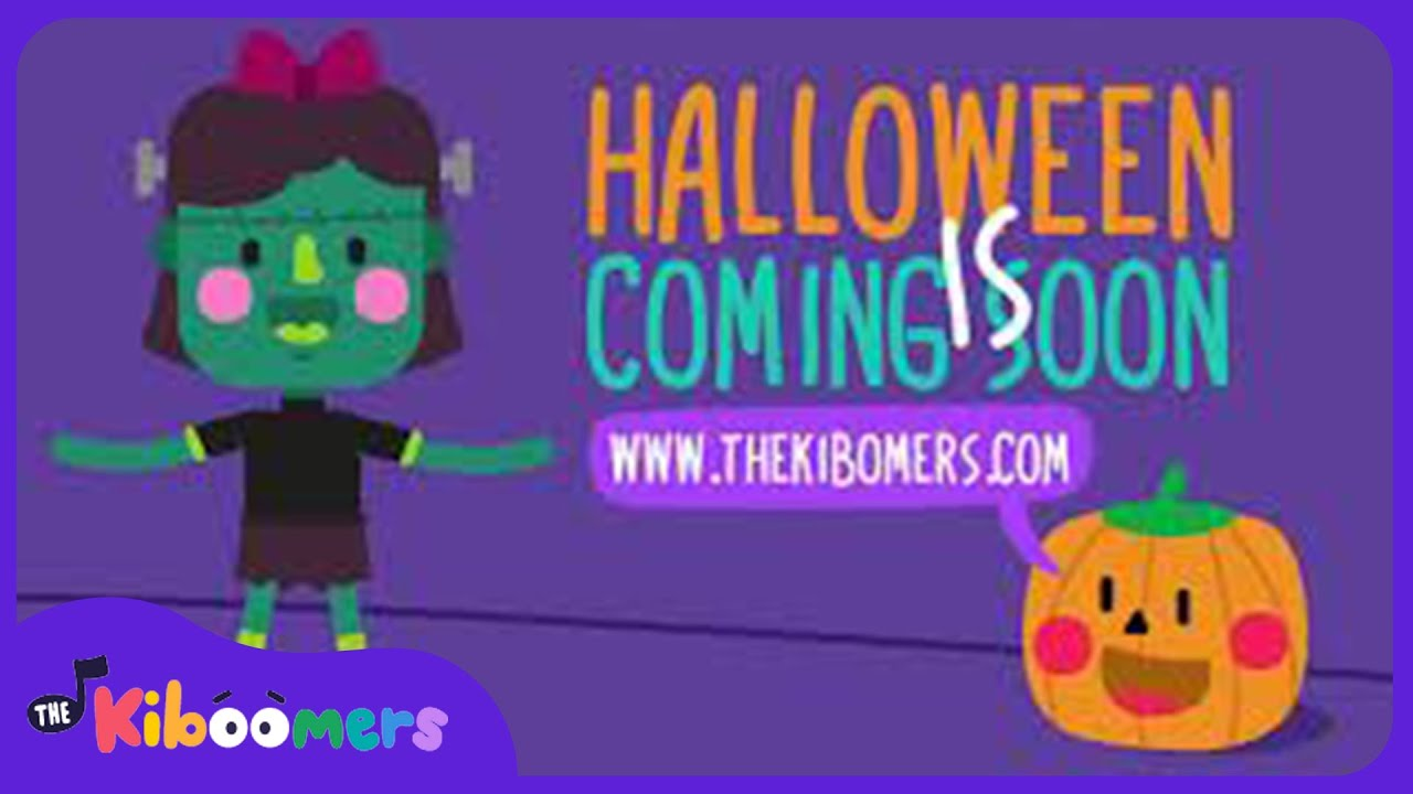 Halloween is Coming Soon  | Halloween Kids Songs | The Kiboomers | Halloween songs for kids