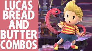 Lucas Bread and Butter combos (Beginner to Godlike) ft. Blucas