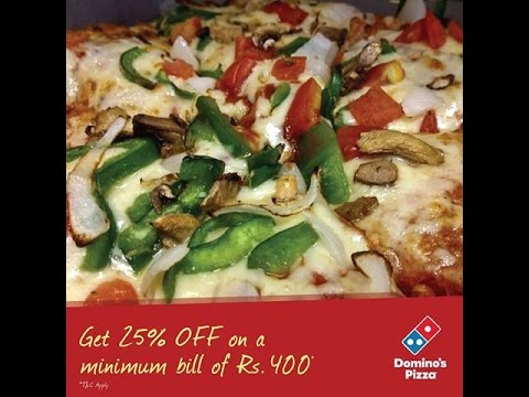 Order Dominos Pizza Online in India - YouTube