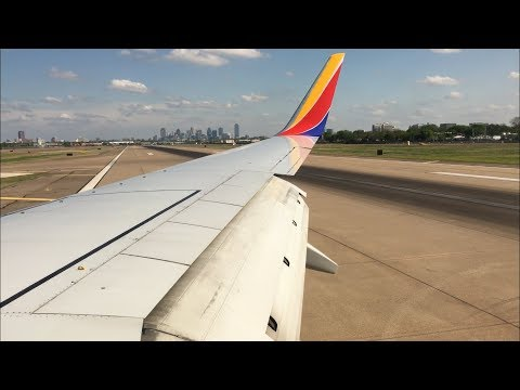 Southwest Airlines Flight From Kansas City to Dallas