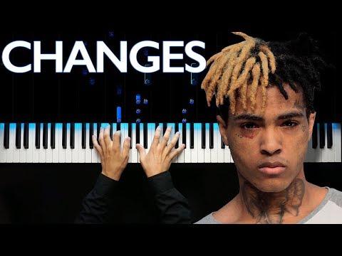 XXXTENTACION - changes | Piano tutorial