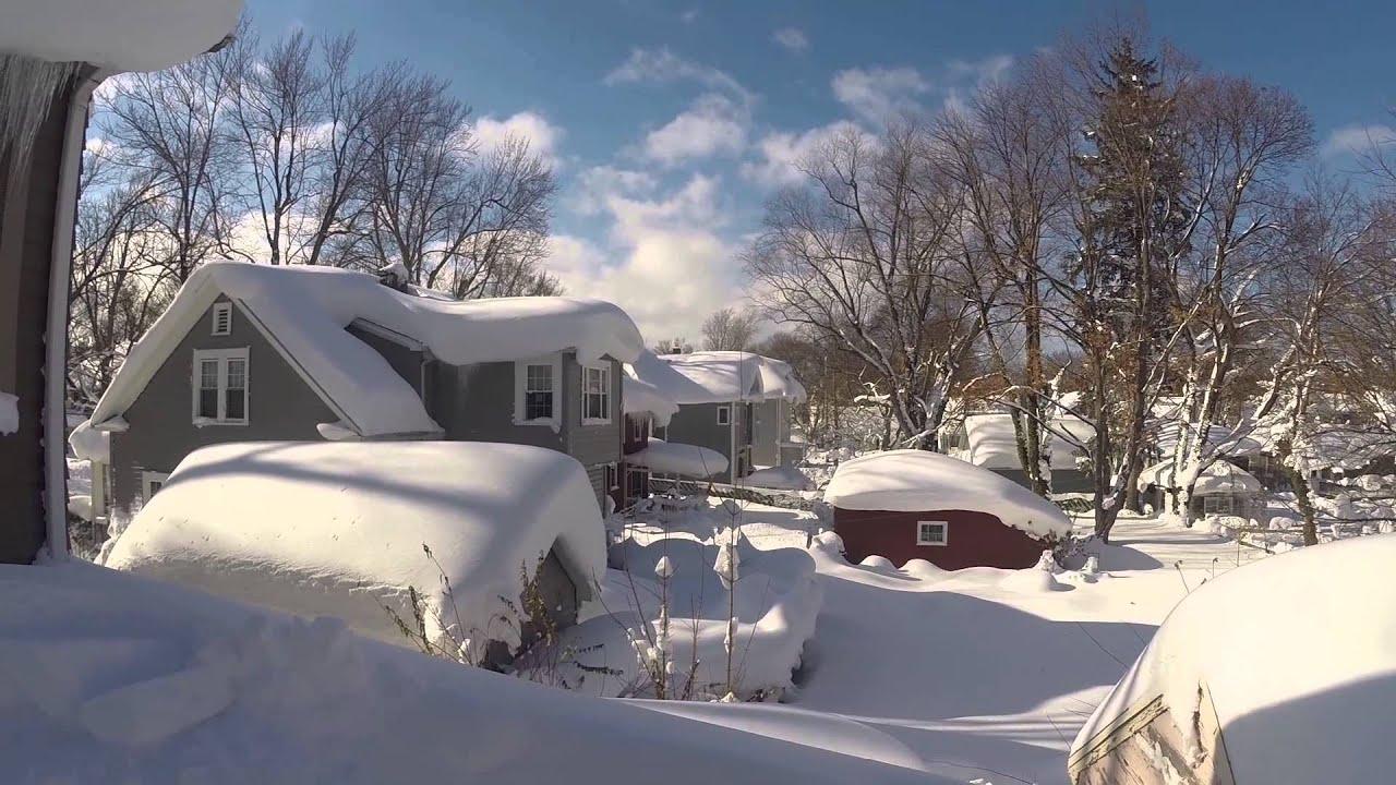 Hamburg Buffalo Snowstorm How To Remove 6 Lake Effect