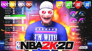 THE MOST OVERPOWERED GUARD BUILD IN NBA 2K20! THE BEST OFFENSIVE THREAT BUILD OF ALL TIME!