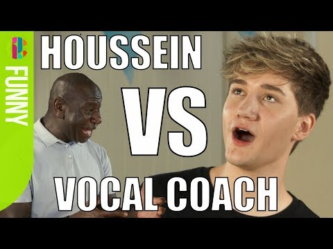 Houssein gets vocal coached!