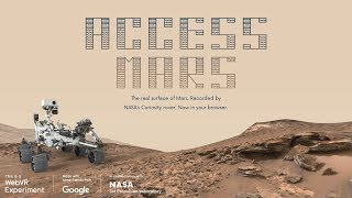 Access Mars is a WebVR Experiment that brings the real surface of M...