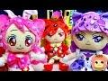 プリキュアアラモード キュアホイップとキュアマカロンとキュアショコラにキラキラ☆デコレーション❤️キッズ アニメ おもちゃ Kids Anime Toy