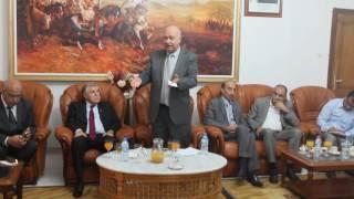 كلمة والي الولاية حموا احمد التوهامي امام مدير العام سونلغاز