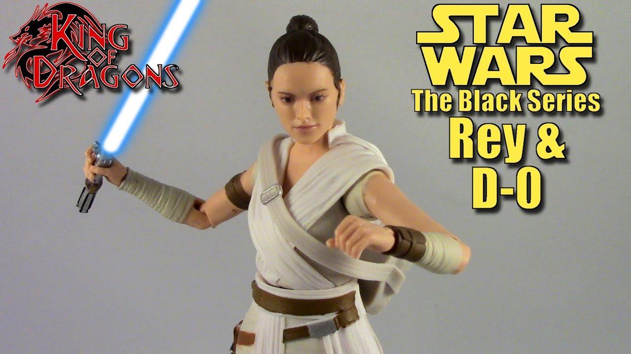 Star Wars Black Series REY /& D-0 #91 Rise Of Skywalker ACTION FIGURE
