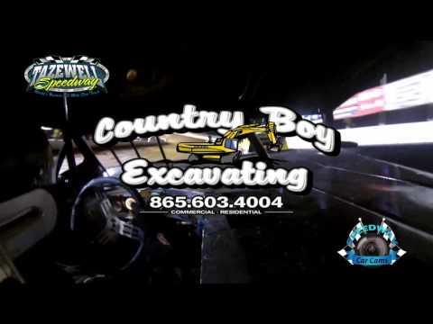 #79 Joshua Sneed - Sportsman - 5-28-17 Tazewell Speedway - In-Car Camera
