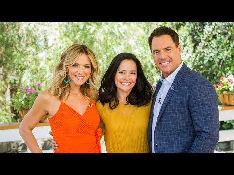 Sarah Edmondson on Hallmark Channel's Home and Family TV