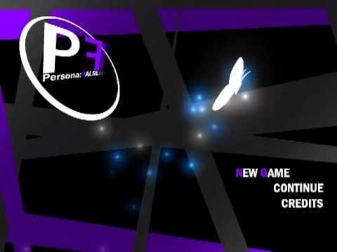 Persona:False - Title Screen