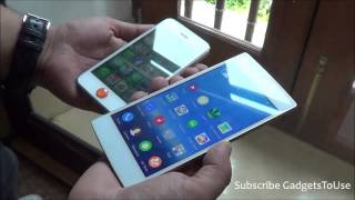 gionee elife s5 5 vs iphone 5 comparison build form factor camera software display and overvie