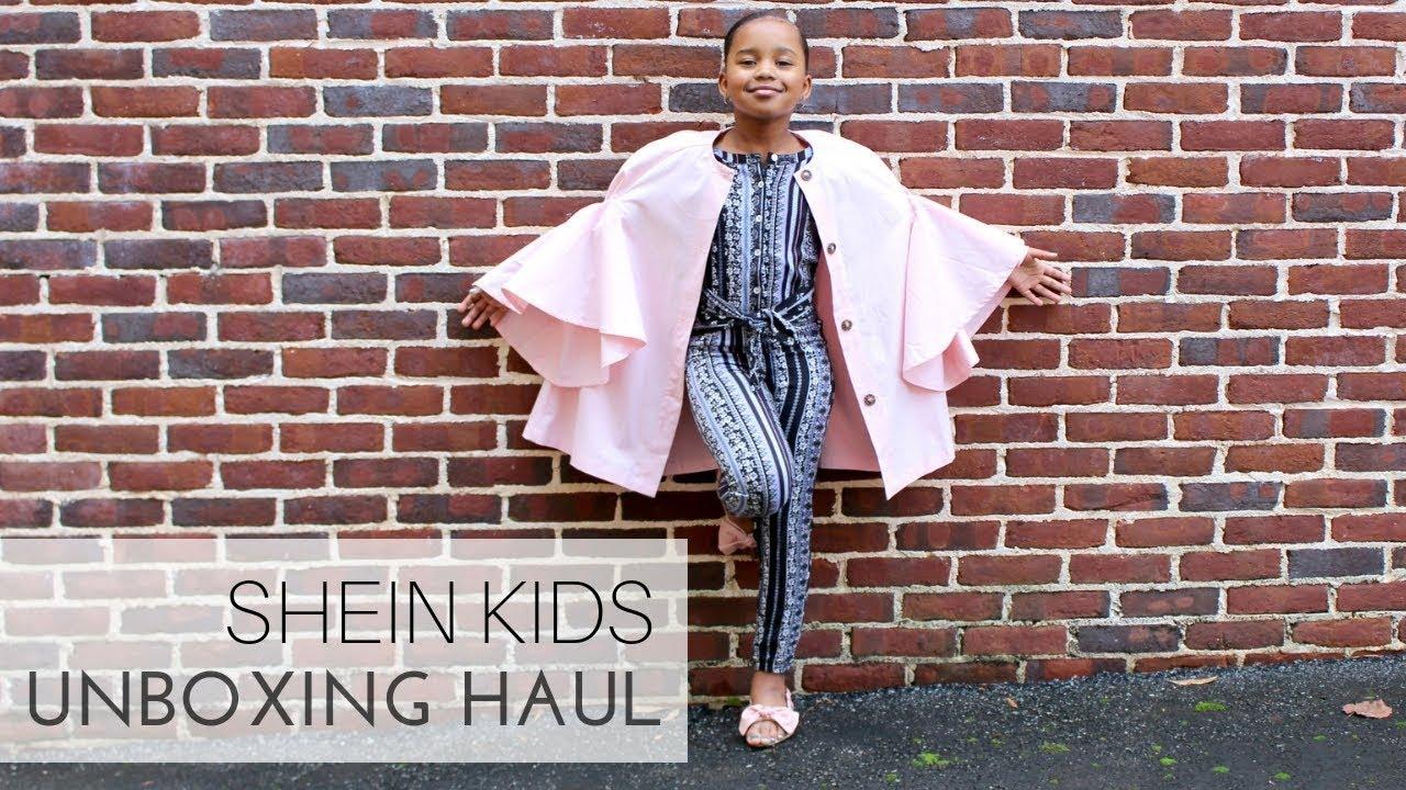 09f3496ef Shein Kids Haul Unboxing - Baby Shopaholic