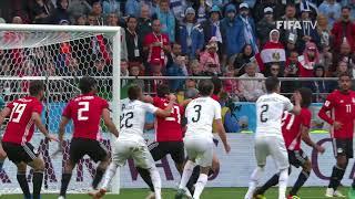 Jose GIMENEZ Goal - Egypt v Uruguay - MATCH 2