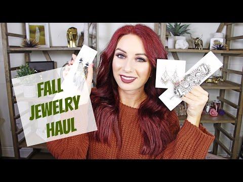 Fall Jewlery Haul | Stella & Dot