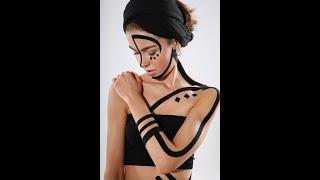 Урок по тейпированию лица. Как разгладить морщины на лбу с помощью эстетического тейпирования?