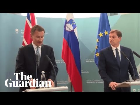 Jeremy Hunt's latest gaffe: Slovenia was 'Soviet vassal state'