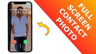 ملء الشاشة جهة اتصال صور iPhone! [2020] screenshot 4
