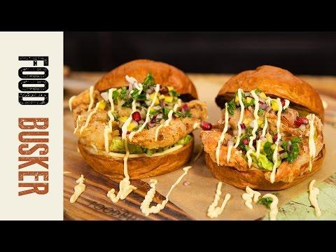 Soft Shell Crab Burger | Food Busker
