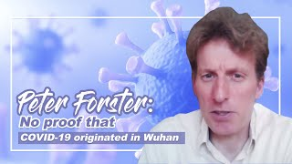 No proof that COVID-19 originated in Wuhan: Peter Forster