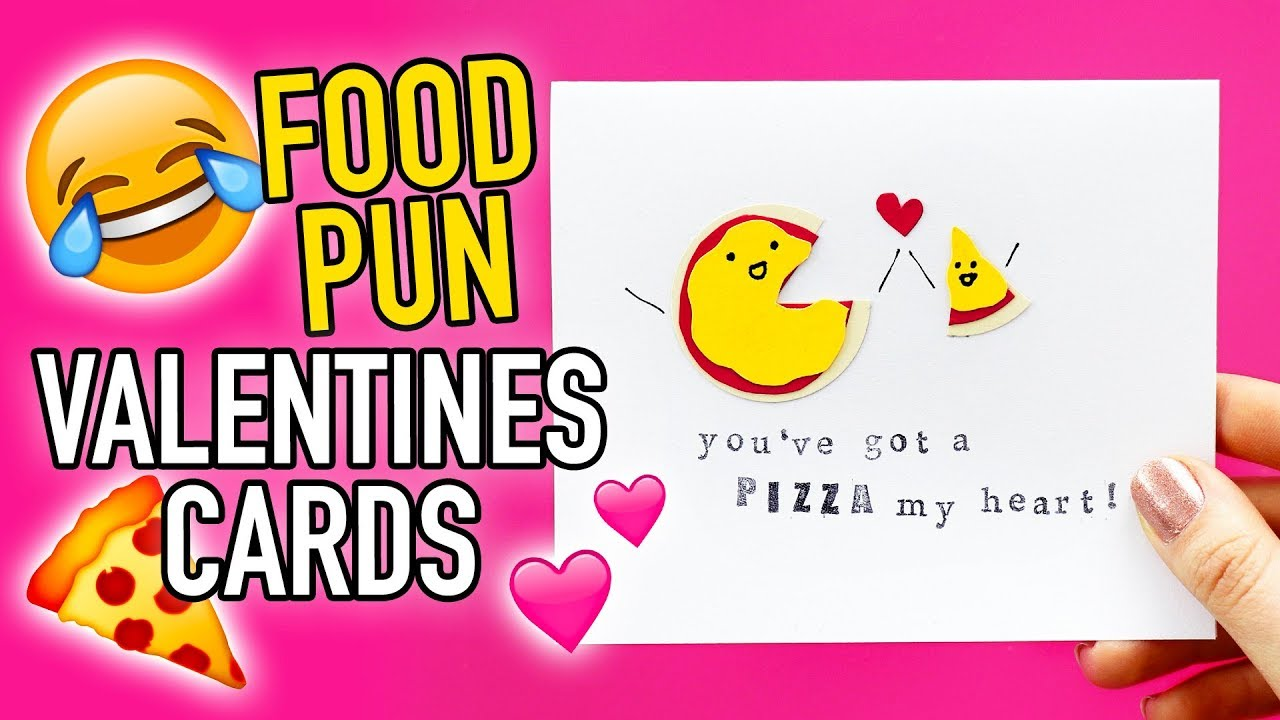 Easy Diy Valentine S Day Cards With Food Puns Hgtv Handmade Youtube