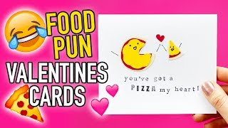 Easy DIY Valentine's Day Cards with FOOD PUNS!  - HGTV Handmade