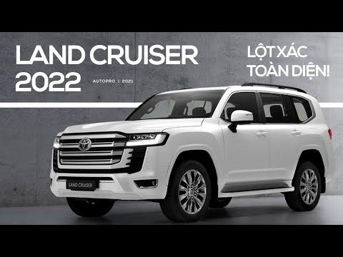 Toyota Land Cruiser 2022: Mạnh mẽ nhưng tiết kiệm, thiết kế thay đổi hoàn toàn