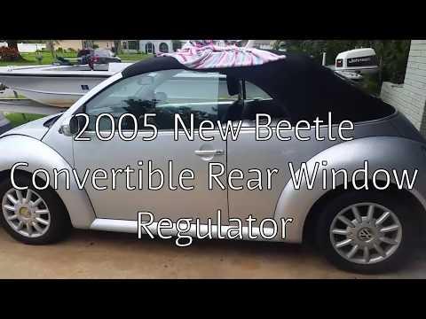 Vw Beetle Convertible Window Motor Regulator Repair For Less