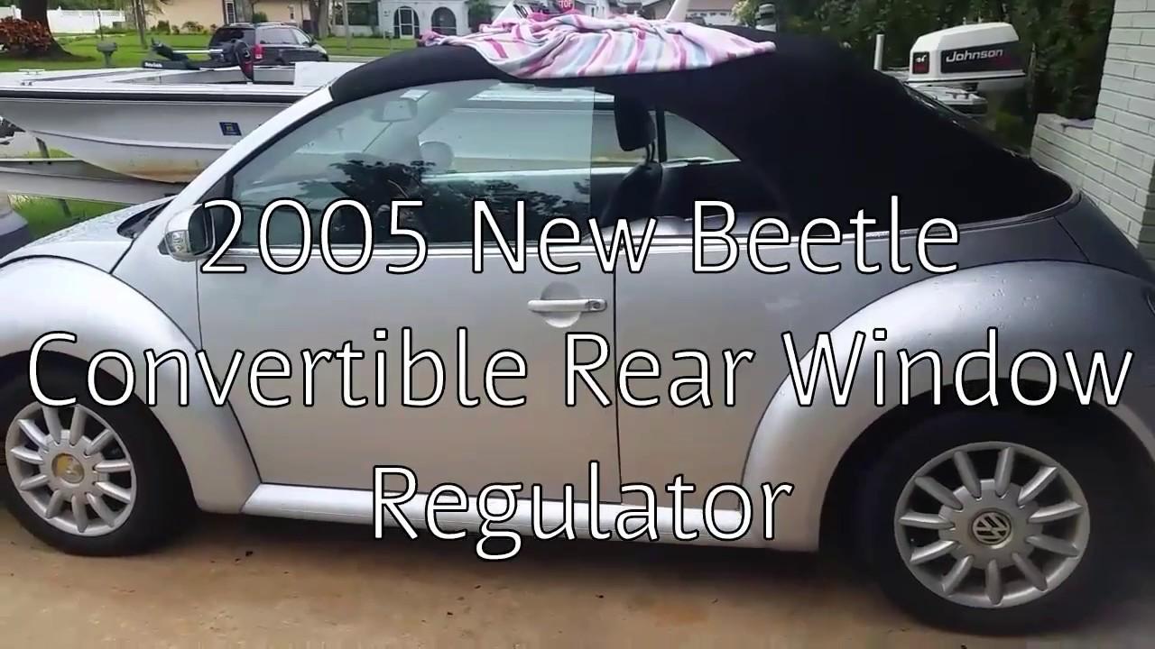 Vw Beetle Convertible Window Motor Regulator Repair For Less Than 20