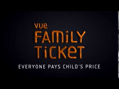 Everyone Pays Child Price with Vue Family Ticket