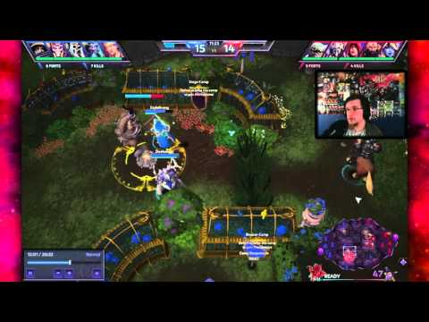 [Heroes of the Storm] Replay Review - Just a Regular Game on Garden of Terror