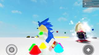 Hedgeblox Engine demo A sonic (Roblox fan Game)