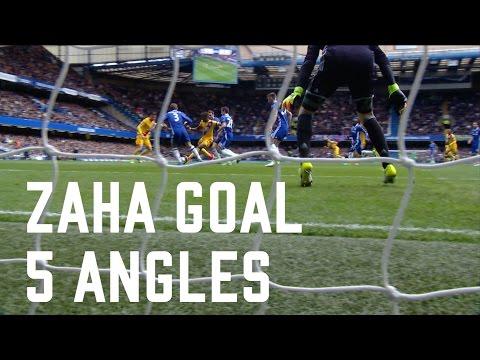 Wilfried Zaha Goal | Chelsea 1-1 Crystal Palace