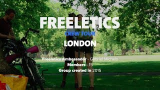 Freeletics Crew Tour 2017 | London, UK